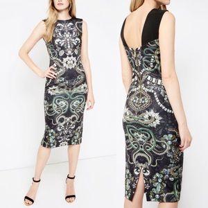 Ted Baker Bellia Jewel Snake Printed Midi Dress